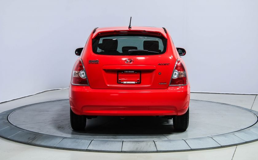 2010 Hyundai Accent GL SPORT A/C GR ELECT TOIT #5