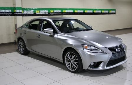 2014 Lexus IS250 AWD AUTO CUIR TOIT MAGS BLUETOOTH à Saint-Jean-sur-Richelieu