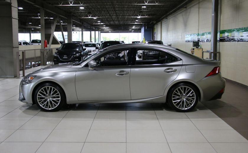 2014 Lexus IS250 AWD AUTO CUIR TOIT MAGS BLUETOOTH #3