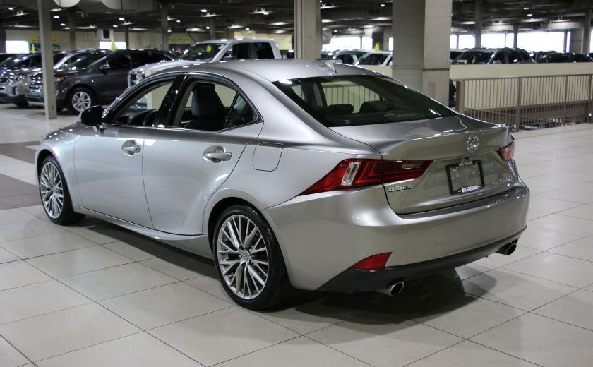 2014 Lexus IS250 AWD AUTO CUIR TOIT MAGS BLUETOOTH #4