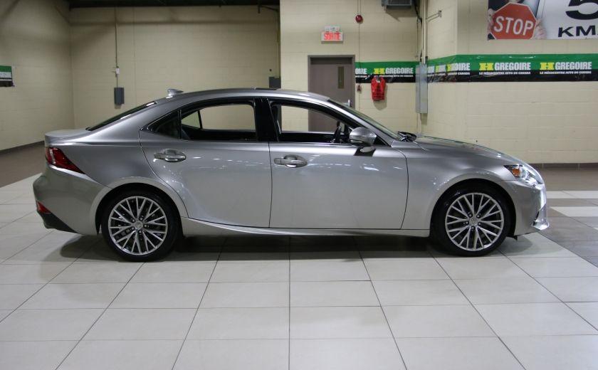 2014 Lexus IS250 AWD AUTO CUIR TOIT MAGS BLUETOOTH #7