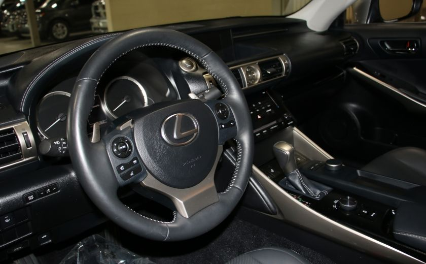 2014 Lexus IS250 AWD AUTO CUIR TOIT MAGS BLUETOOTH #8