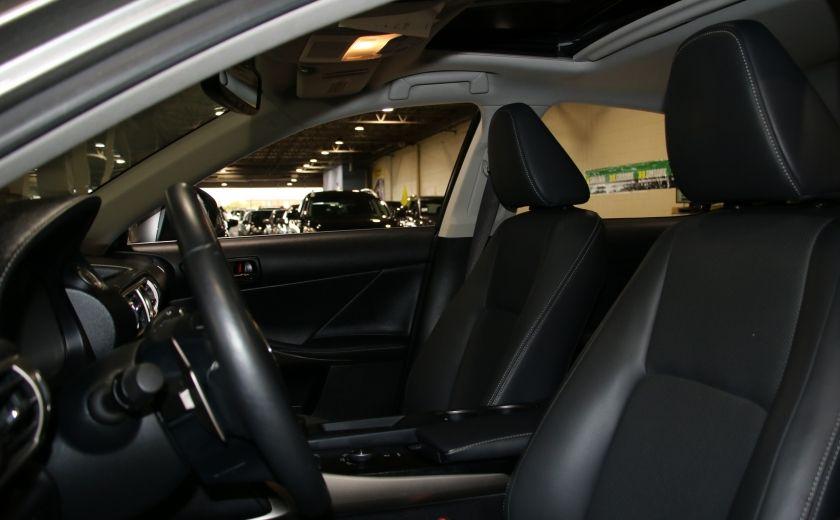 2014 Lexus IS250 AWD AUTO CUIR TOIT MAGS BLUETOOTH #9