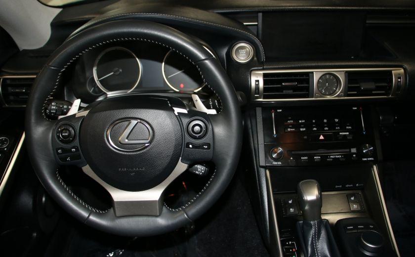 2014 Lexus IS250 AWD AUTO CUIR TOIT MAGS BLUETOOTH #14