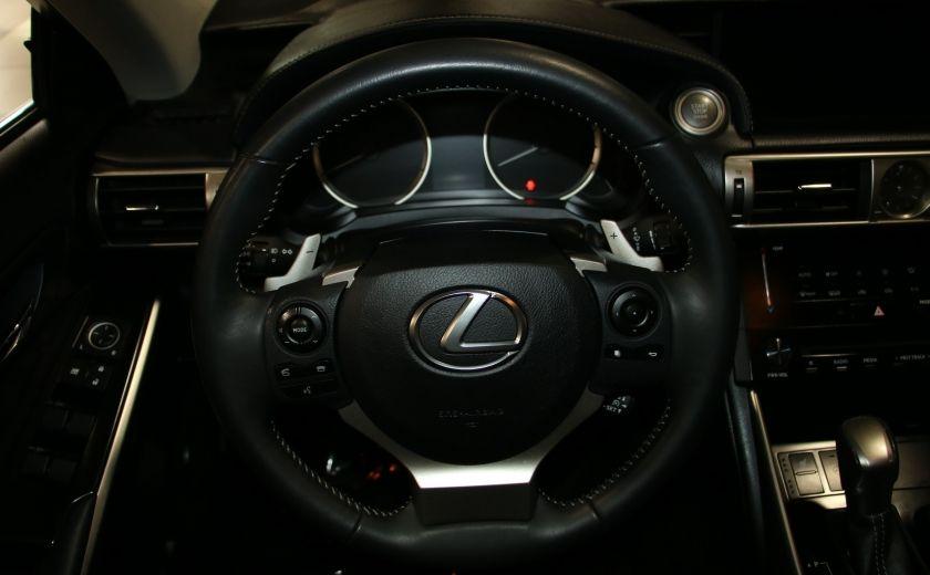 2014 Lexus IS250 AWD AUTO CUIR TOIT MAGS BLUETOOTH #15