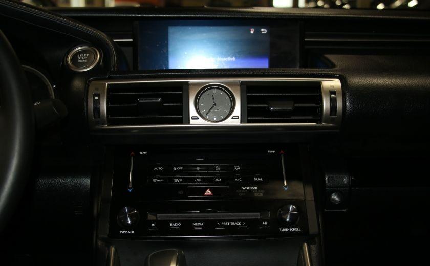 2014 Lexus IS250 AWD AUTO CUIR TOIT MAGS BLUETOOTH #16