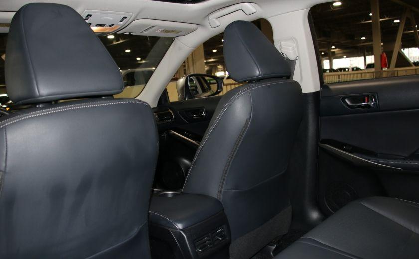 2014 Lexus IS250 AWD AUTO CUIR TOIT MAGS BLUETOOTH #20