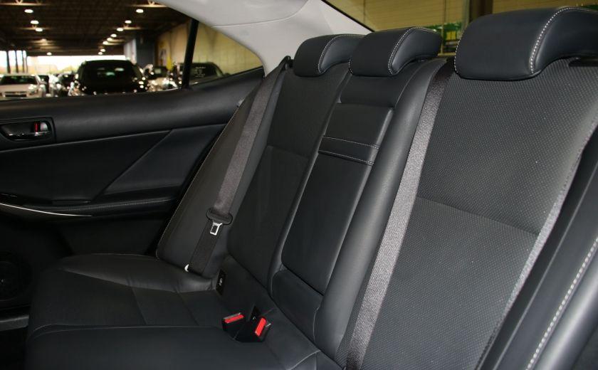 2014 Lexus IS250 AWD AUTO CUIR TOIT MAGS BLUETOOTH #21
