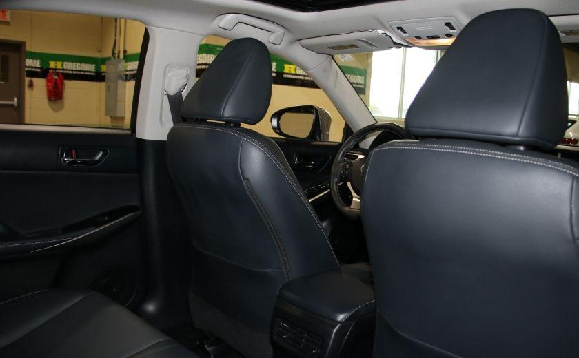 2014 Lexus IS250 AWD AUTO CUIR TOIT MAGS BLUETOOTH #22
