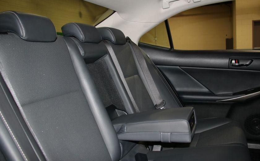 2014 Lexus IS250 AWD AUTO CUIR TOIT MAGS BLUETOOTH #23