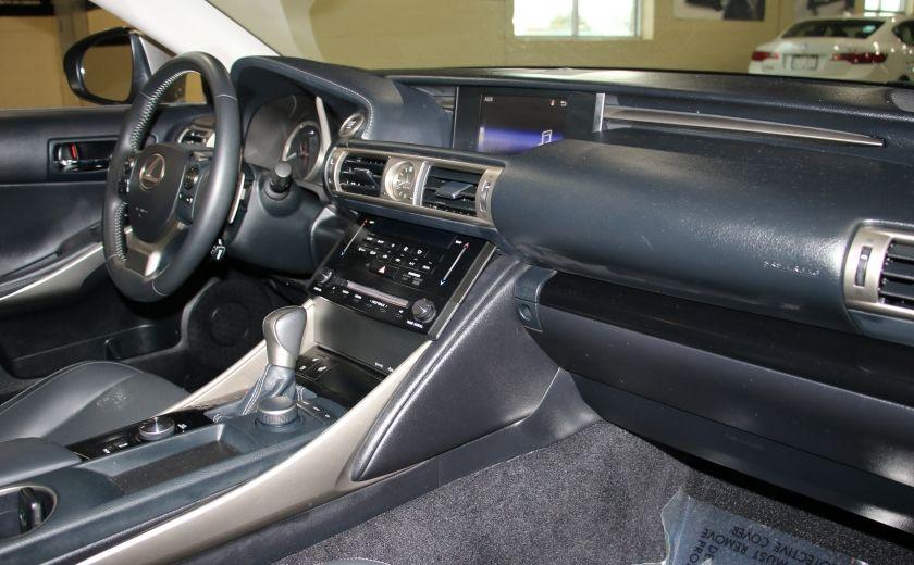 2014 Lexus IS250 AWD AUTO CUIR TOIT MAGS BLUETOOTH #24