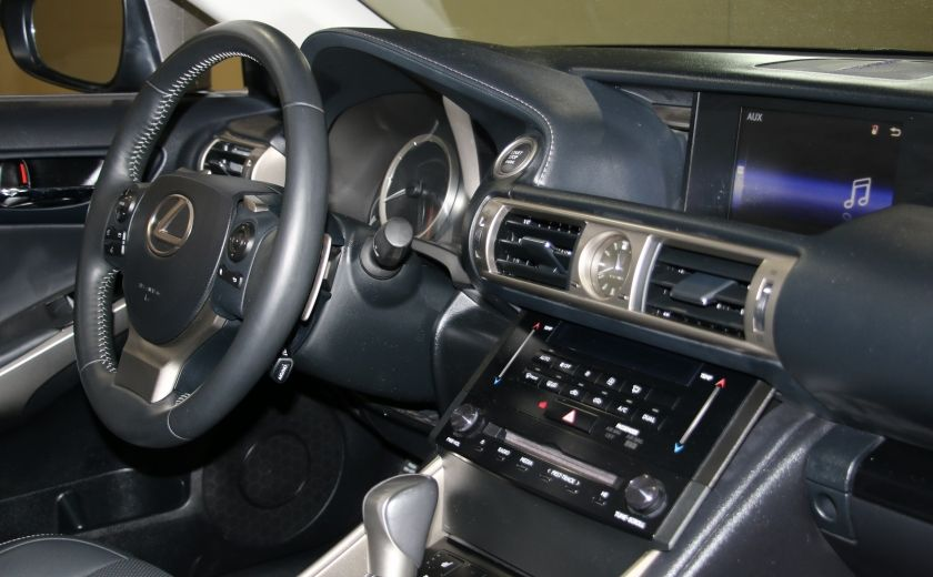 2014 Lexus IS250 AWD AUTO CUIR TOIT MAGS BLUETOOTH #25