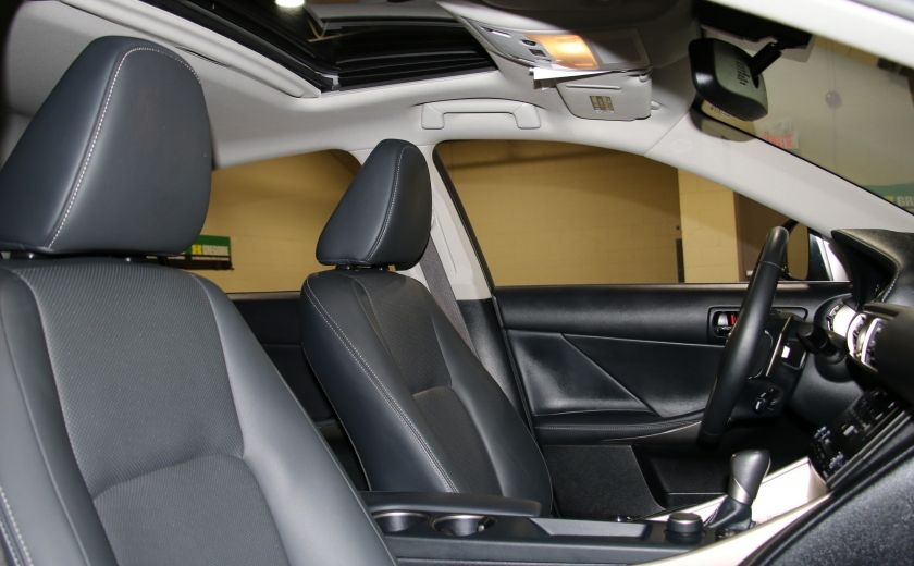 2014 Lexus IS250 AWD AUTO CUIR TOIT MAGS BLUETOOTH #26