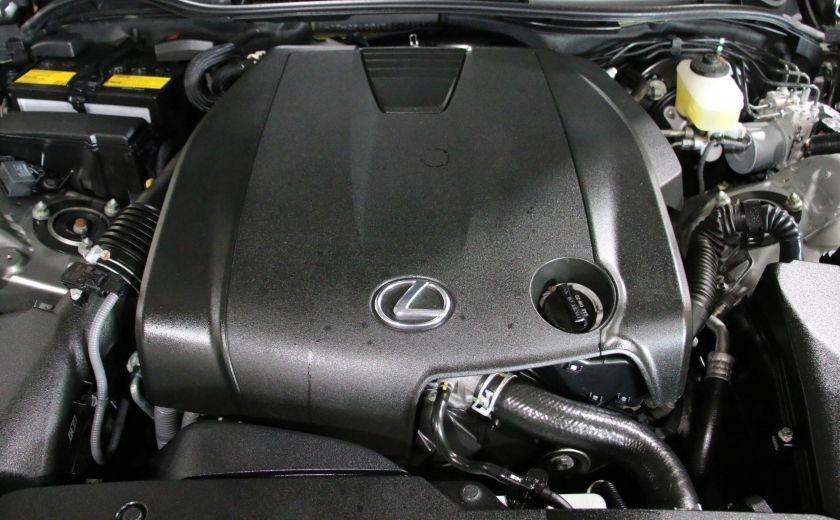 2014 Lexus IS250 AWD AUTO CUIR TOIT MAGS BLUETOOTH #27