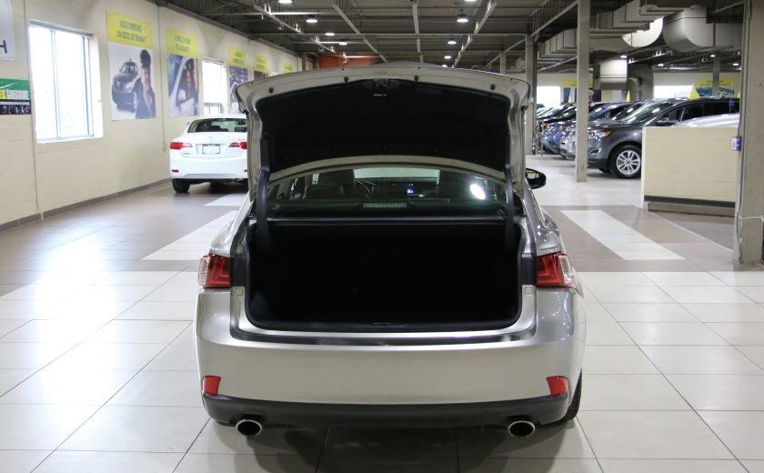 2014 Lexus IS250 AWD AUTO CUIR TOIT MAGS BLUETOOTH #29