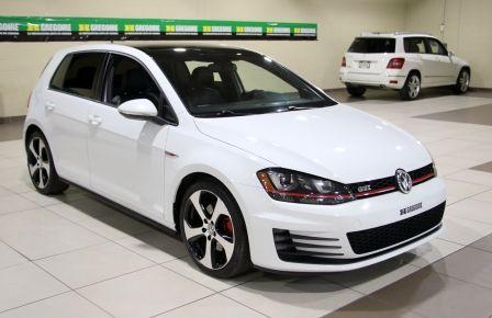 2015 Volkswagen GTI Autobahn AUTO CUIR TOIT NAV MAGS BLUETOOTH à Terrebonne