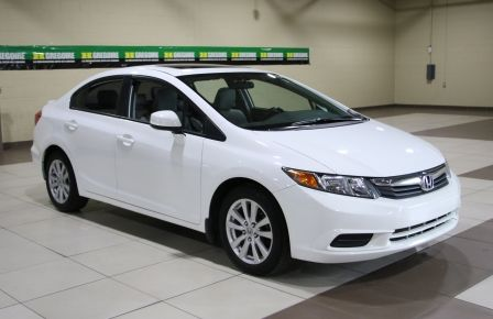 2012 Honda Civic EX-L AUTO A/C CUIR TOIT MAGS à Brossard