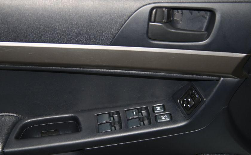 2012 Mitsubishi Lancer SE A/C GR ELECT MAGS BLUETHOOT #10