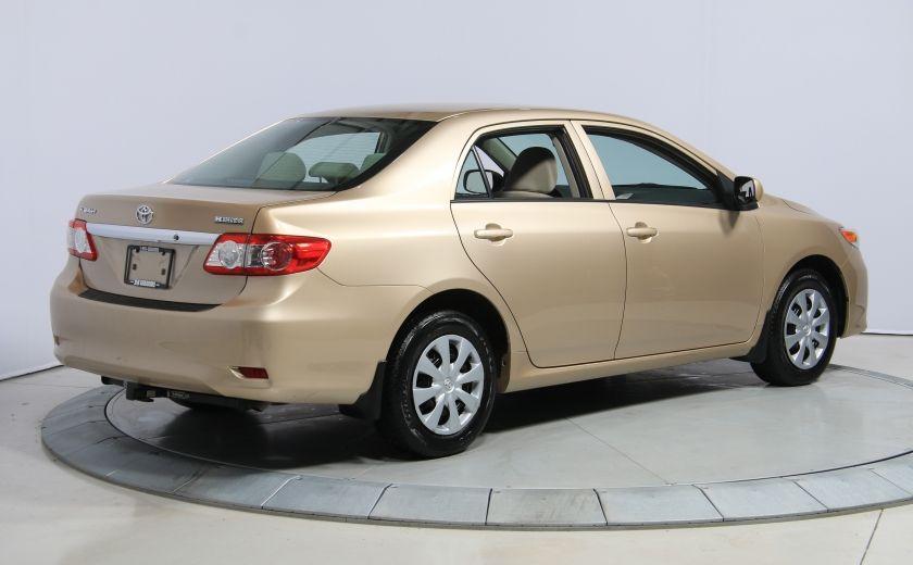 2013 Toyota Corolla CE AUTO A/C GR ELECT BLUETHOOT #6