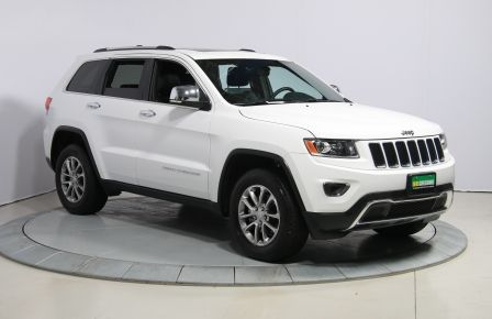 2016 Jeep Grand Cherokee Limited 4WD AUTO CUIR TOIT MAGS BLUETOOTH in Rimouski