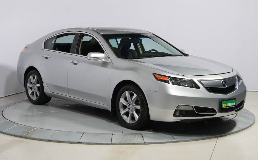 2012 Acura TL NAVIGATION AUTO CUIR TOIT BLUETOOTH #0