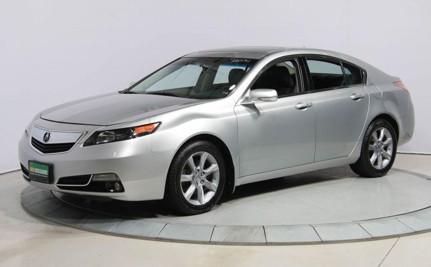 2012 Acura TL NAVIGATION AUTO CUIR TOIT BLUETOOTH #2