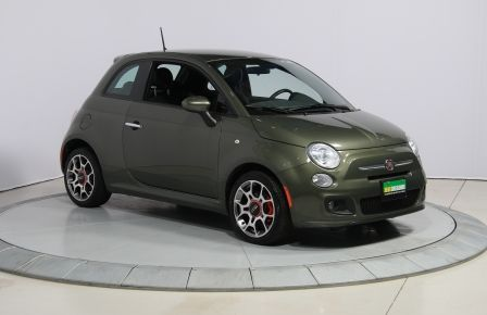 2015 Fiat 500 Sport AUTO A/C GR ELECT MAGS BLUETOOTH in Abitibi