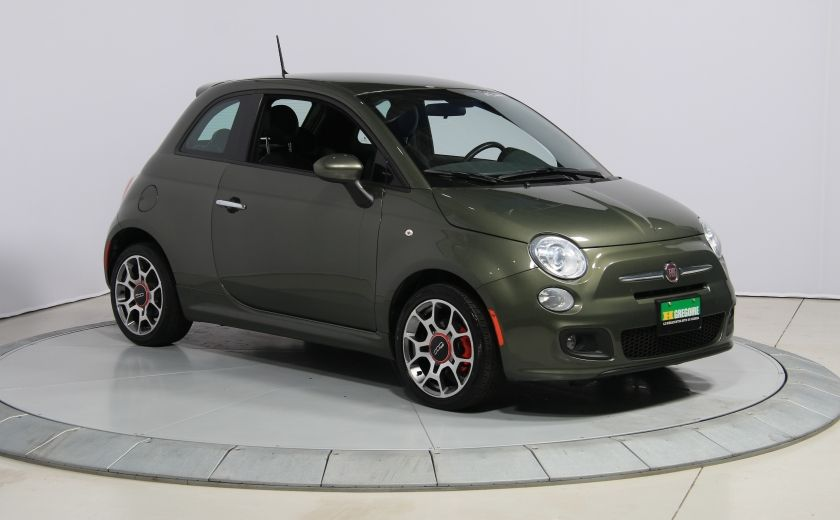 2015 Fiat 500 Sport AUTO A/C GR ELECT MAGS BLUETOOTH #0
