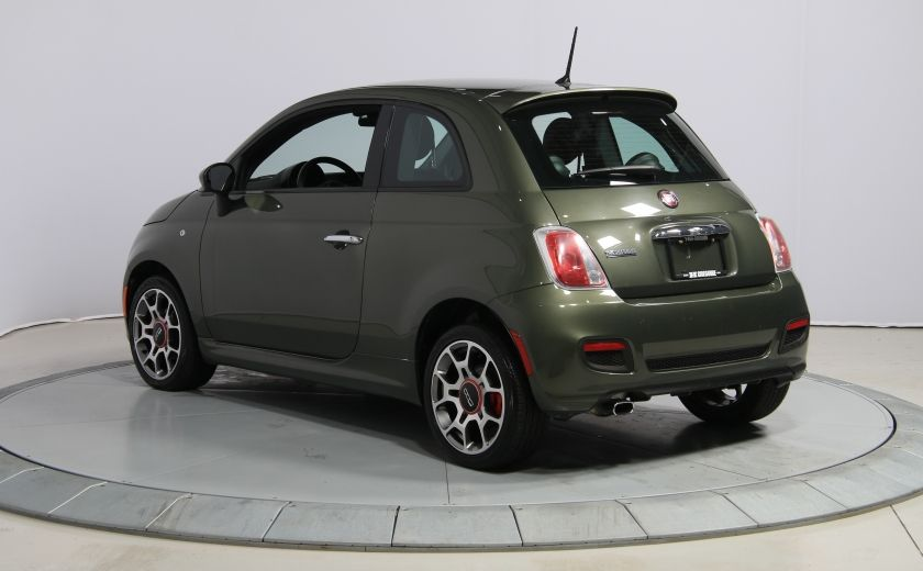 2015 Fiat 500 Sport AUTO A/C GR ELECT MAGS BLUETOOTH #4