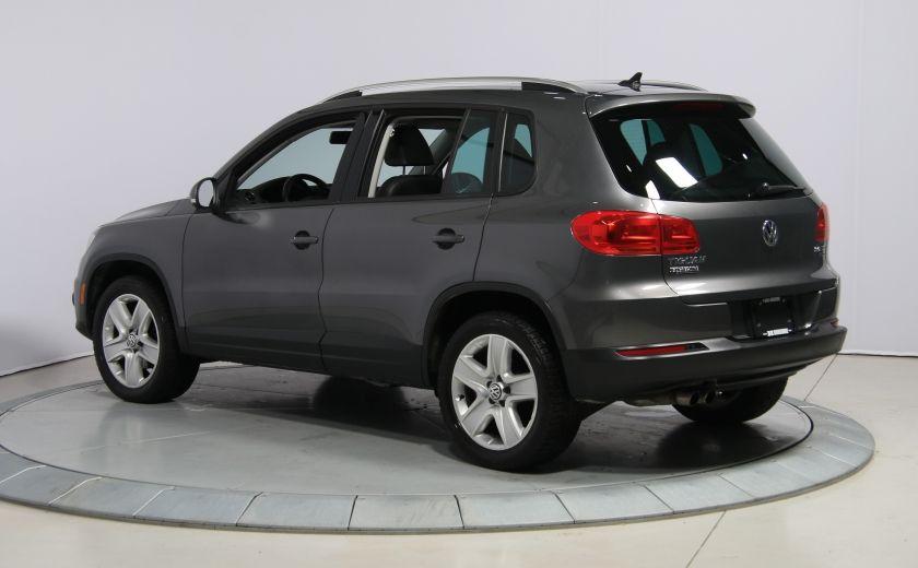 2013 Volkswagen Tiguan Comfortline sport pack cuir toit pano #4