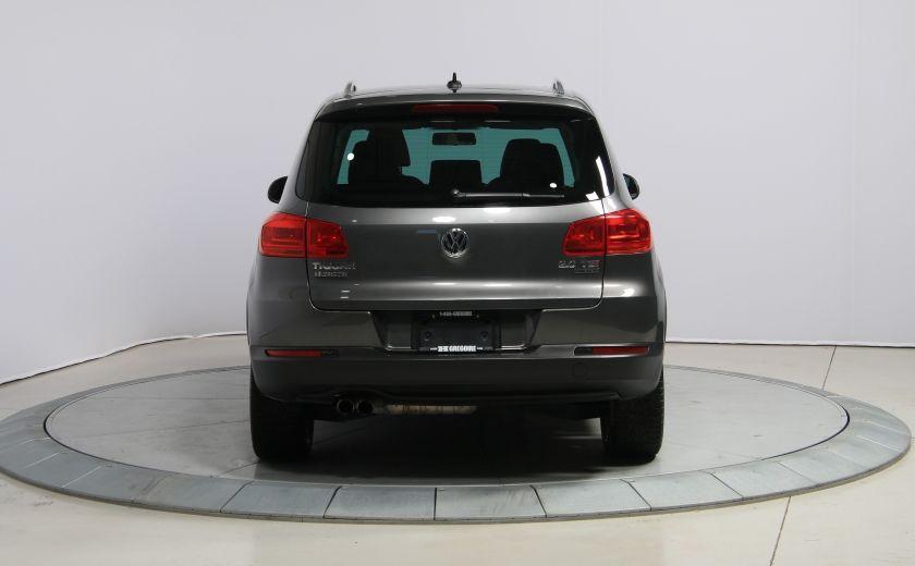 2013 Volkswagen Tiguan Comfortline sport pack cuir toit pano #5