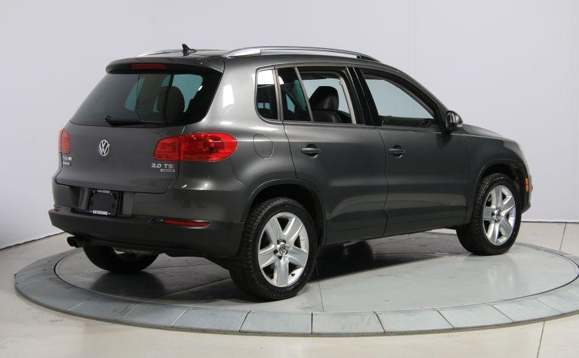 2013 Volkswagen Tiguan Comfortline sport pack cuir toit pano #6