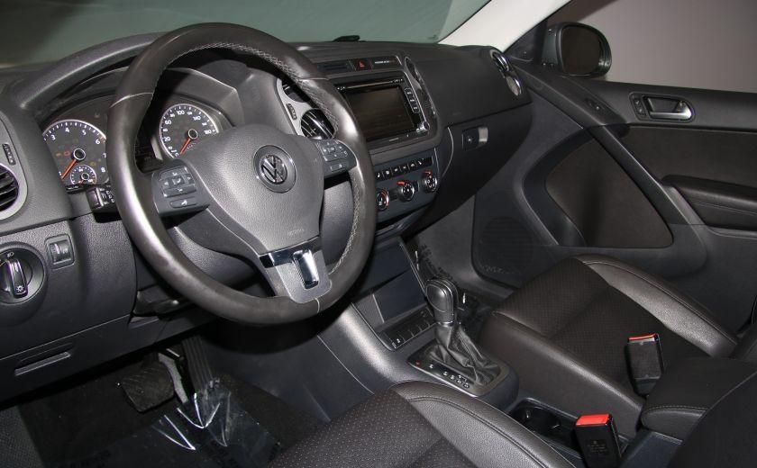 2013 Volkswagen Tiguan Comfortline sport pack cuir toit pano #8