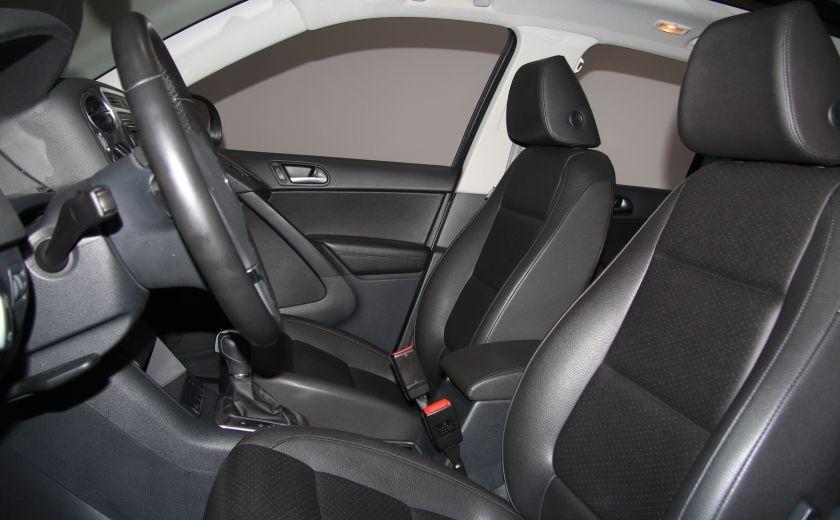 2013 Volkswagen Tiguan Comfortline sport pack cuir toit pano #9