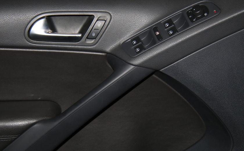 2013 Volkswagen Tiguan Comfortline sport pack cuir toit pano #10