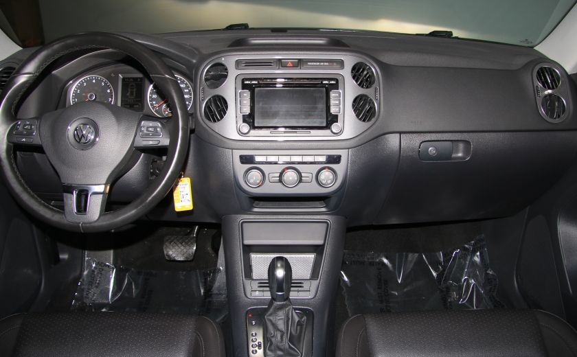 2013 Volkswagen Tiguan Comfortline sport pack cuir toit pano #13