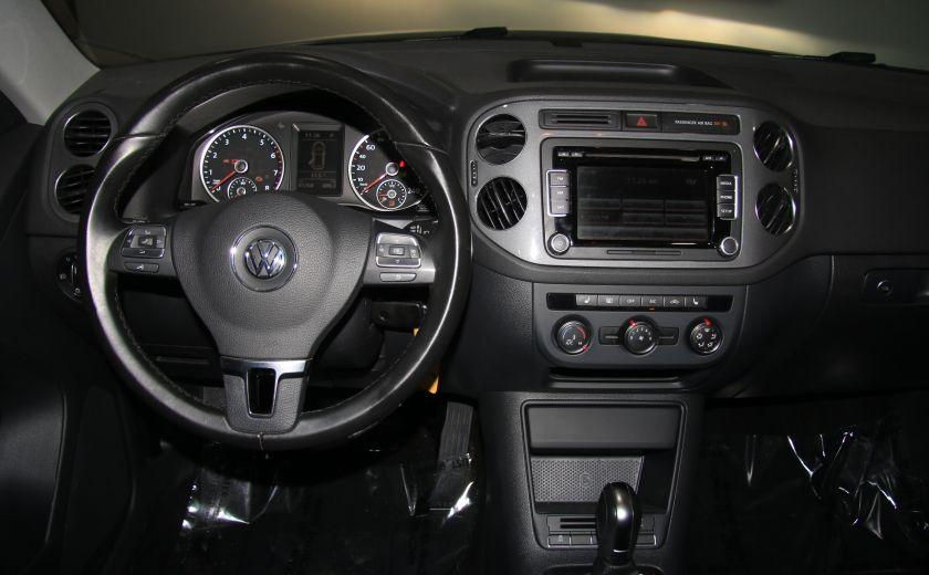 2013 Volkswagen Tiguan Comfortline sport pack cuir toit pano #14