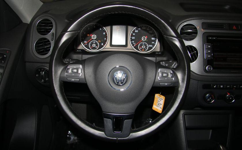 2013 Volkswagen Tiguan Comfortline sport pack cuir toit pano #15