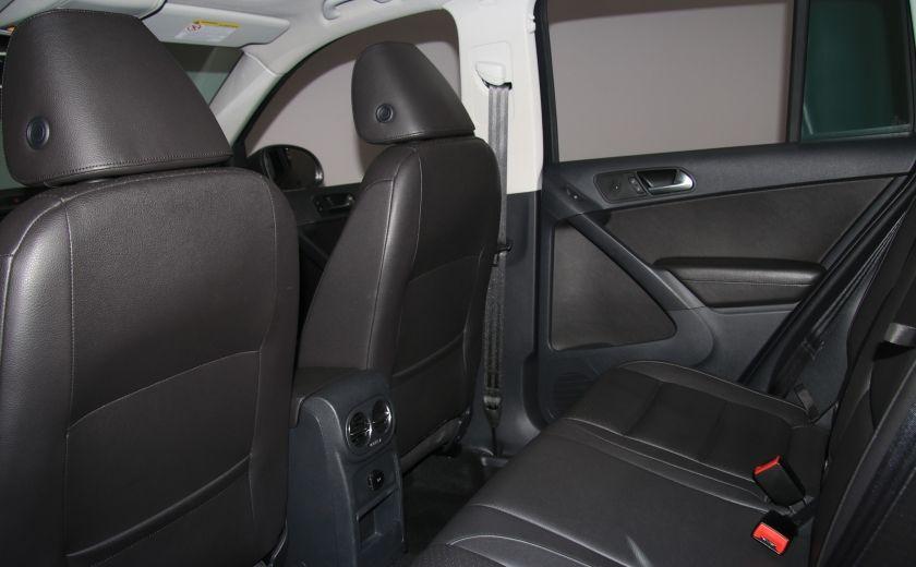 2013 Volkswagen Tiguan Comfortline sport pack cuir toit pano #19