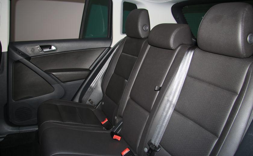 2013 Volkswagen Tiguan Comfortline sport pack cuir toit pano #20