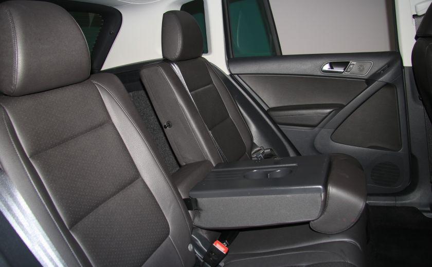 2013 Volkswagen Tiguan Comfortline sport pack cuir toit pano #22