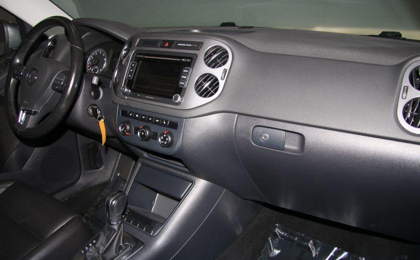 2013 Volkswagen Tiguan Comfortline sport pack cuir toit pano #23