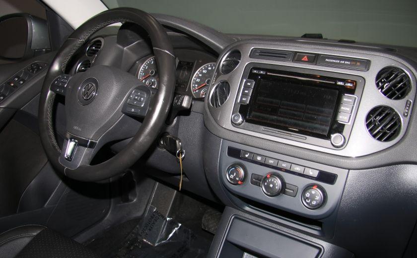 2013 Volkswagen Tiguan Comfortline sport pack cuir toit pano #24