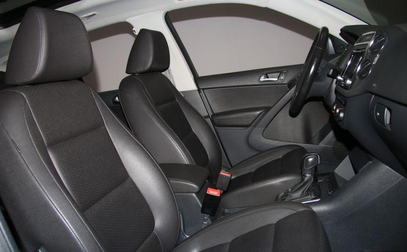 2013 Volkswagen Tiguan Comfortline sport pack cuir toit pano #25