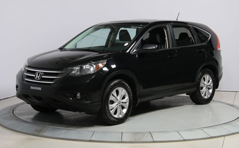 2014 Honda CRV EX-L AWD CUIR TOIT MAGS BLUETOOTH #2