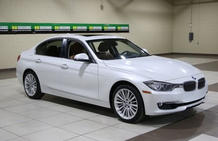 2013 BMW 328XI 328i xDrive LUXURY LINE AWD AUTO CUIR TOIT MAGS BL à Drummondville