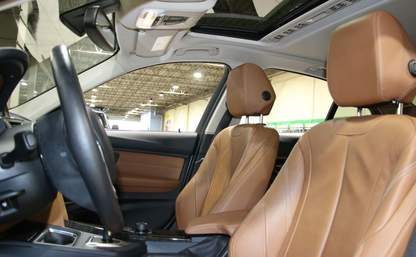 2013 BMW 328XI 328i xDrive LUXURY LINE AWD AUTO CUIR TOIT MAGS BL #9