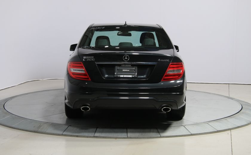 2013 Mercedes Benz C300 AWD AUTO A/C CUIR TOIT MAGS #5