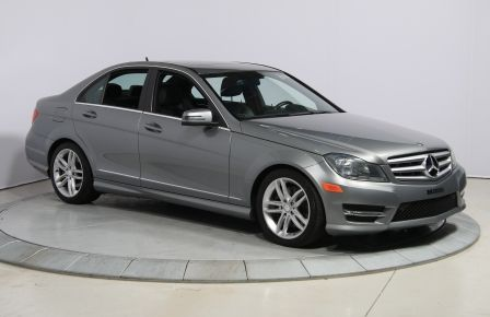 2013 Mercedes Benz C300 4MATIC CUIR TOIT NAV MAGS BLUETOOTH #0