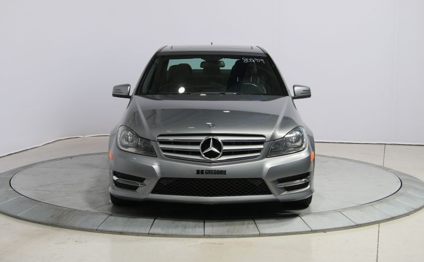 2013 Mercedes Benz C300 4MATIC CUIR TOIT NAV MAGS BLUETOOTH #1